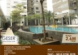 1 Park Residence Apartment, 2+1BedRoom, Full Furnish, only Rp. 2,6M nego