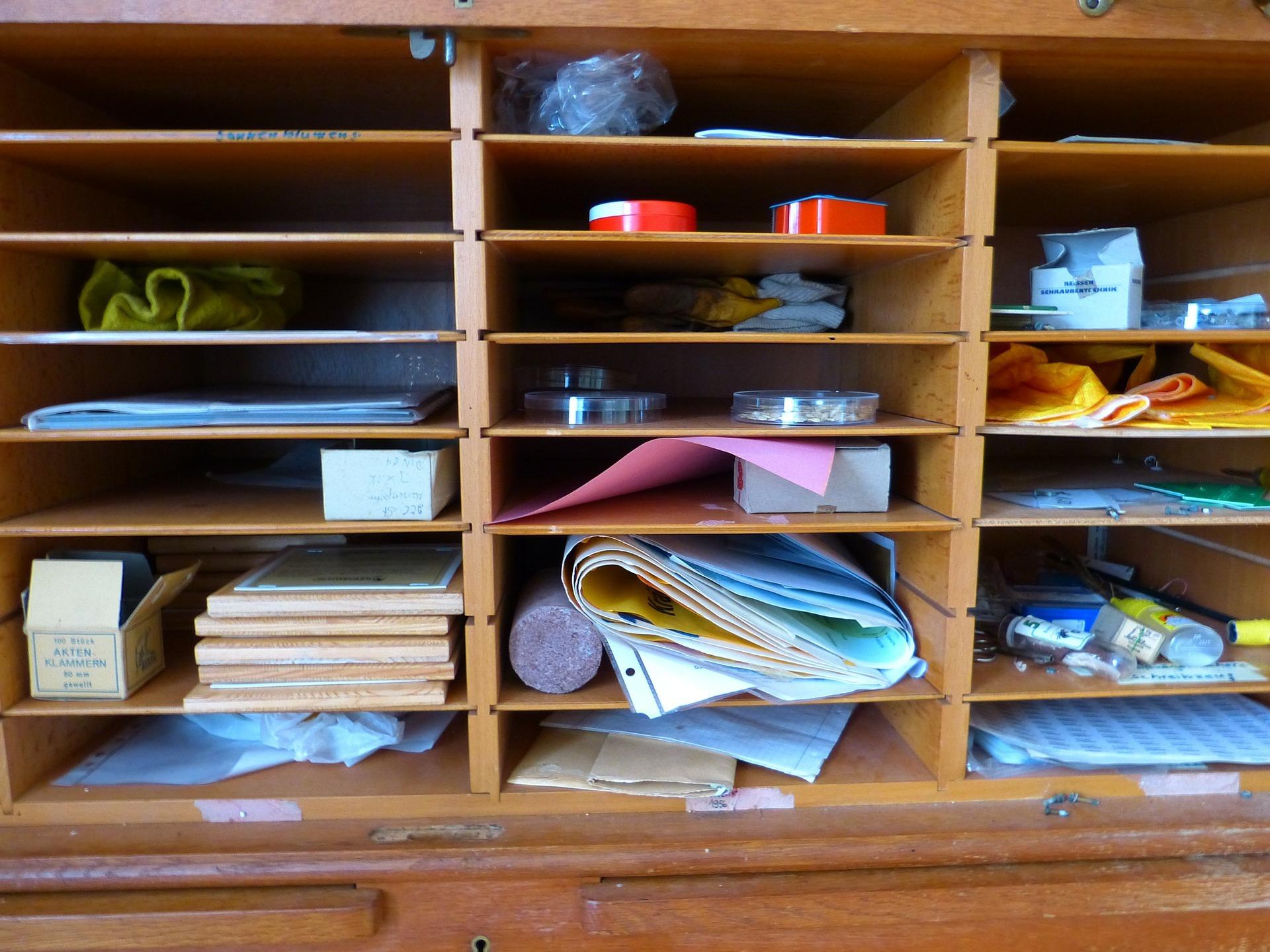 Atas Meja Sabuk Laci Menyusun Rak Barang Kecil Buku Daftar Bulang Lemari Kayu Jati Besi Desain Industrial Dekor Rumah Kafe Tips Rapikan Dengan Bahan Bekas