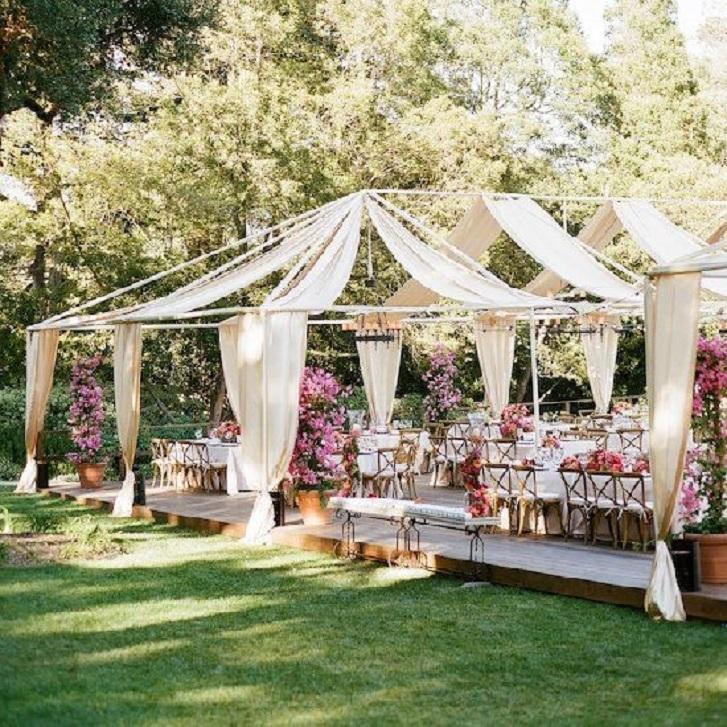 dekorasi unik jelang pesta pernikahan di