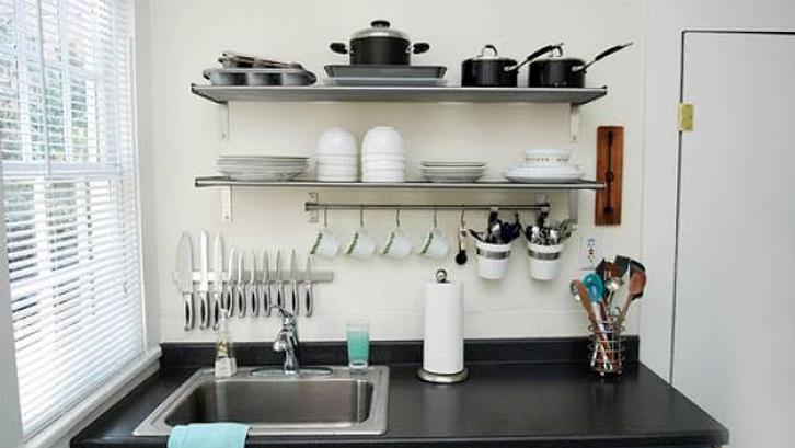 Dibutuhkan Trik Khusus Untuk Membuat Dapur Selalu Rapi Meski Tanpa Kitchen Set