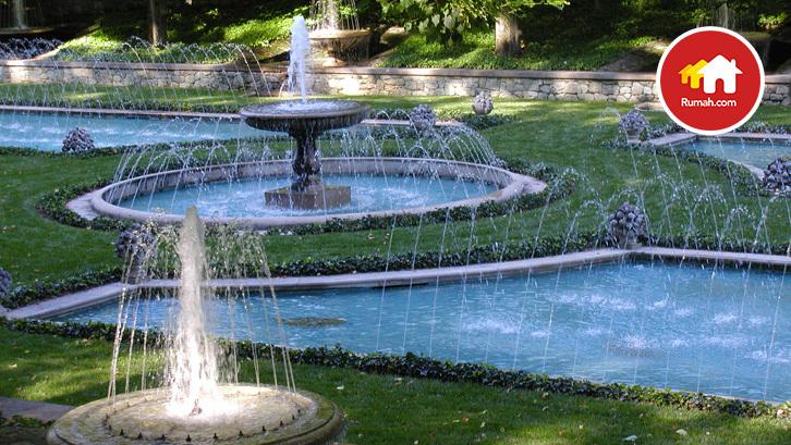 Tips Bikin Spot Air Mancur Di Taman Mungil Rumah Dan Gaya