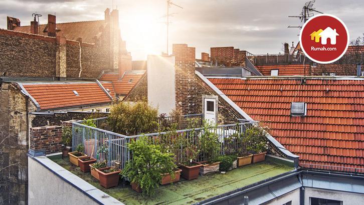 Rumah Kekinian Itu Yang Ada Roof Garden Nya Rumah Dan