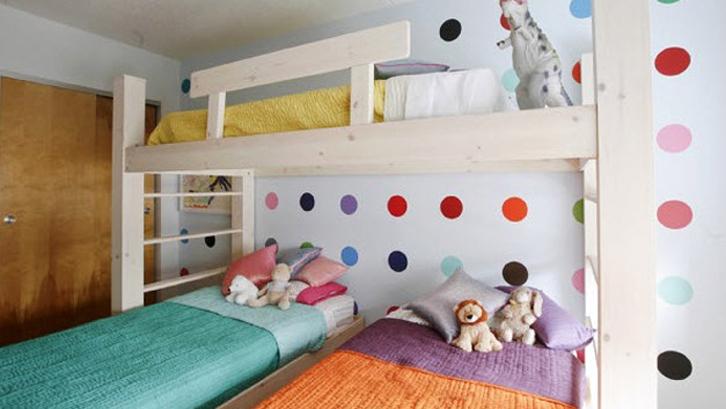 Inspirasi Desain Kamar Tidur Untuk Tiga Anak Rumah Dan