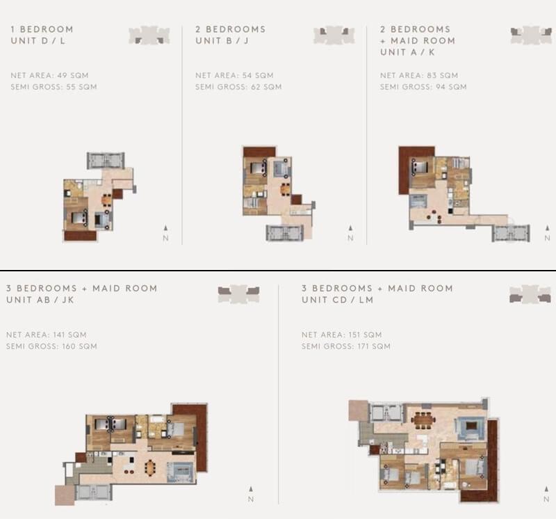 cluny residence apartment jakarta barat. Black Bedroom Furniture Sets. Home Design Ideas