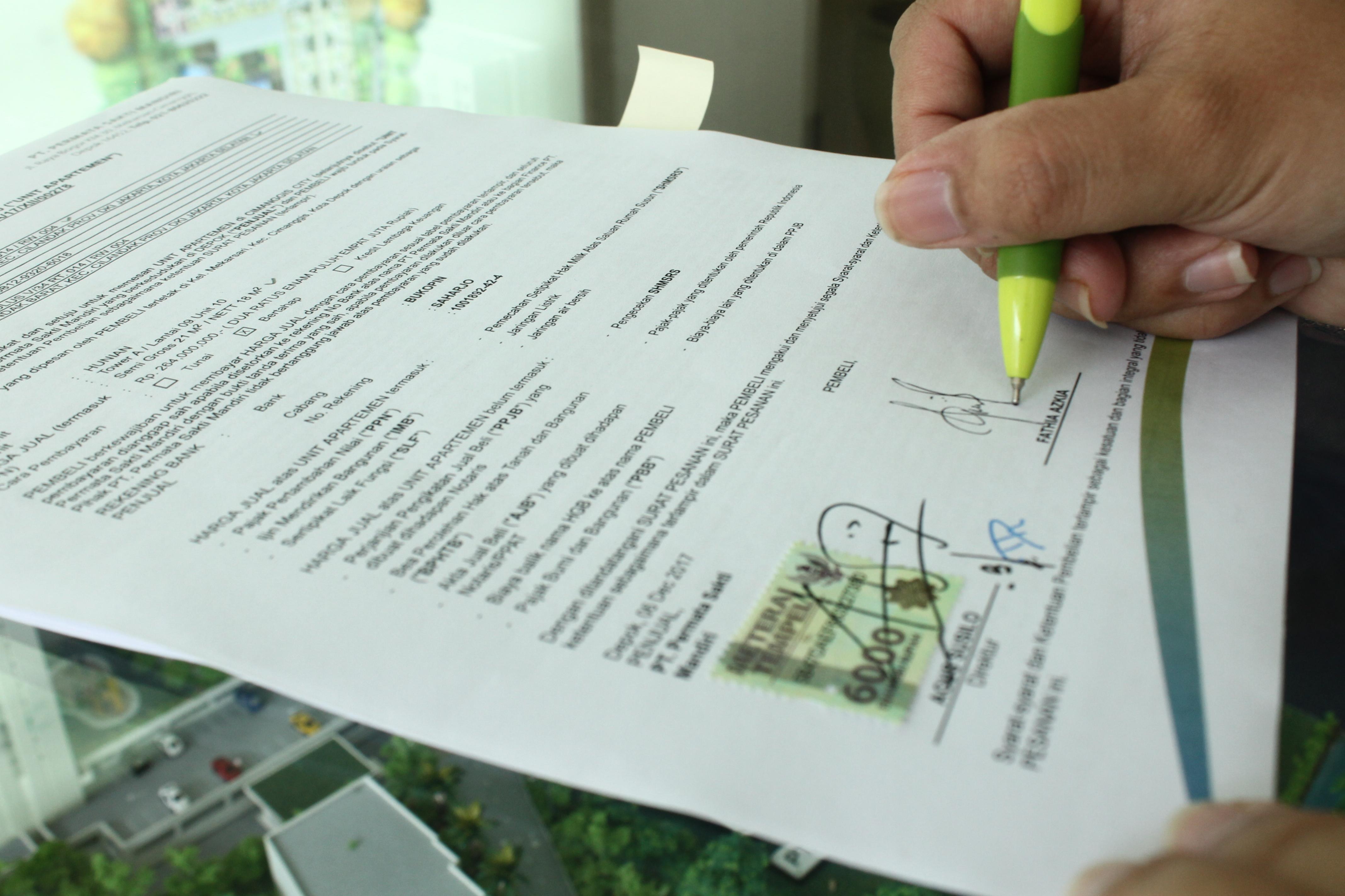 Contoh Surat Perjanjian Sewa Ruko Rumahcom