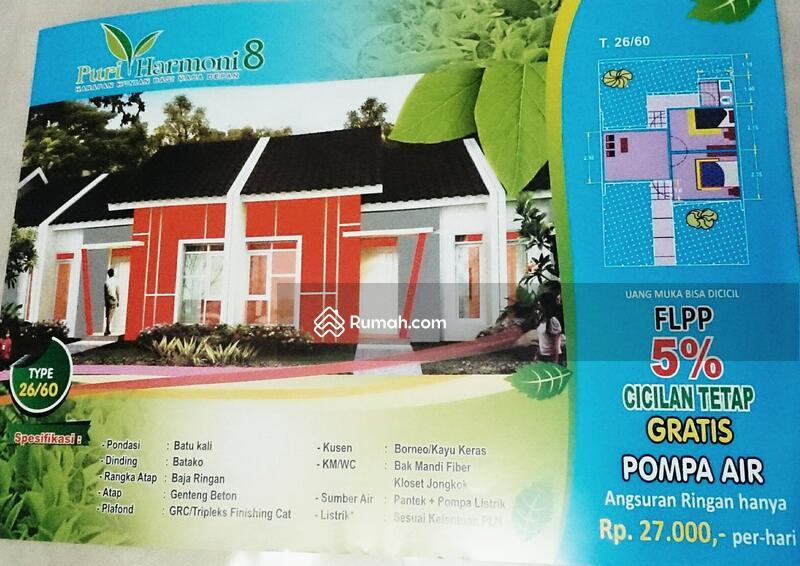 Rumah Subsidi Siap Huni Dekat Stasiun Parung Panjang Cicilan 900rban