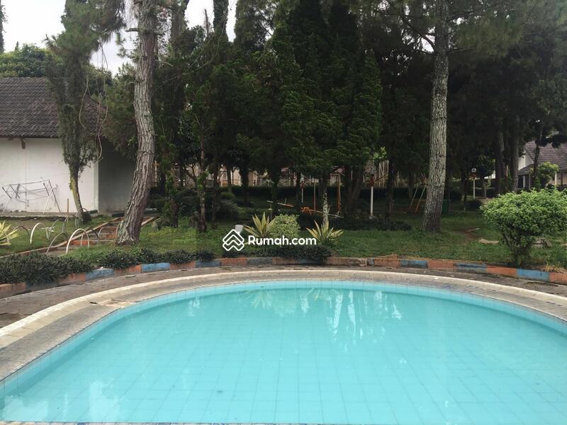 jual cepat villa dengan kolam renang di cimacan cipanas
