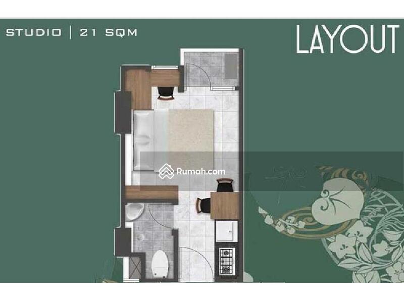 Jual cpt overkredit bu apart pik2 gandeng type studio a for Apartment plans bu