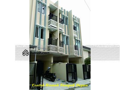 Dijual - Dibangun 5 unit rumah baru minimalis di komplek perumahan duri mas
