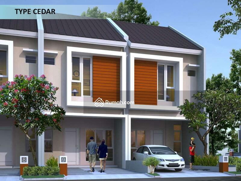 Rumah Cluster Minimalis 2 Lantai Di Grand Dhaya Pesona Serpong