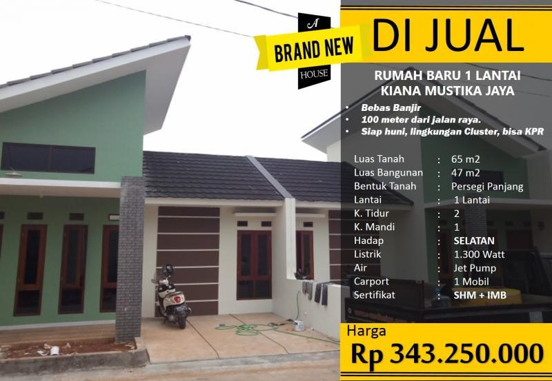 Rumah Harga 300 Juta An Di Cimuning Mustika Jaya Bekasi