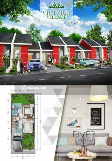 dijual rumah baru cluster victoria village harapan indah