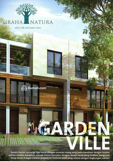 Cozy modern minimalist home graha natura cluster garden for Minimalist house jakarta