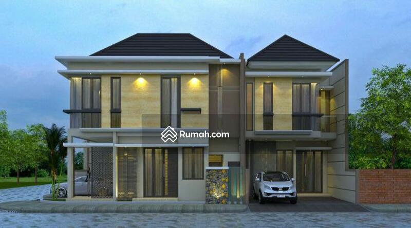Medokan baru 3unit new house project modern luxury for Minimalist house jakarta