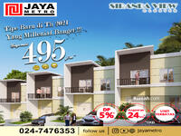 Dijual - 2 Bedrooms Rumah Tembalang, Semarang, Jawa Tengah