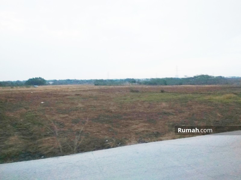 Photo dari depan lokasi tanah