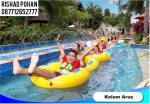 The Biggest Waterpark on 8000 sqm land in Lombok