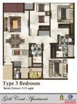 3 Bedrooms Apartment Pantai Indah Kapuk, Jakarta Utara, DKI Jakarta