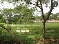 Dijual - Tanah Taman Golf Timur - Diamond Golf PIK (1600m)