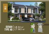 >> Rumah 1 M an, jalur utama Kolonel Masturi design minimalis modern 2 lantai, Cimahi