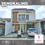 Rumah 2 Lantai Luas 121 di Sengkaling kota Malang _ 650. 19