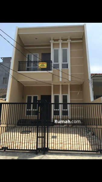 Rumah baru mantap full granite, sdh tinggi dari jalan #90230440