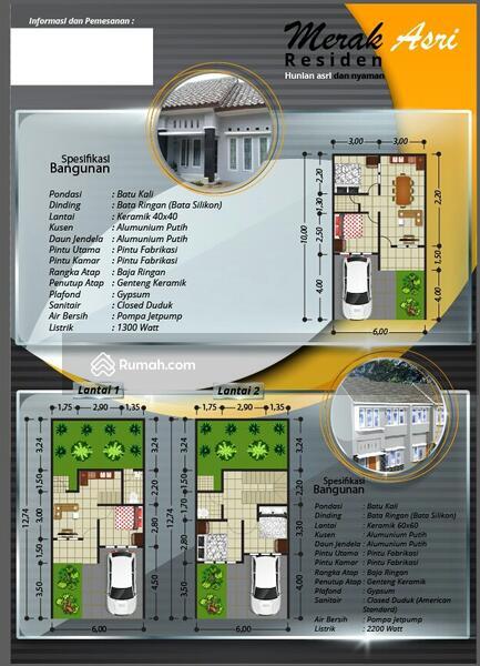 Rumah Asri, Indent, hook, best view, terbukti lokasi Investasi terbaik #90730886