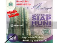 Dijual - Apartemen Amethyst Tower Satu2nya HGB Murni(SHM) Di Kemayoran