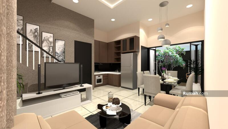 Rumah 2 Lantai 3 Kamar Tidur Free Biaya Pajak #104128602