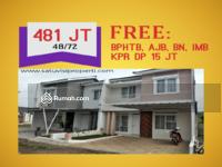 Dijual - Cluster Teras Cibinong Dua Lantai Murah Bisa KPR Dekat Pemda dan Stasiun Bojonggede