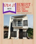 Cimahpar 1 Bogor Ready Stock Free DP dan Biaya KPR Plus Kitchen Set