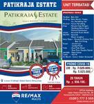 Dijual Rumah Strategis Bebas Banjir Patikraja Estate