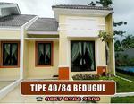 Rumah asri type 40 tanah 84 m2 murah berkualitas