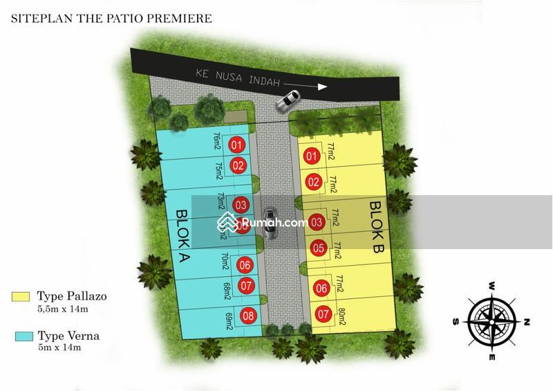 Rumah dijual cepat di BSD The Patio Premiere #104762186