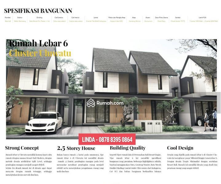 Rumah 2 lt @ Cluster Uluwatu,Bali Resort Bogor #92832322