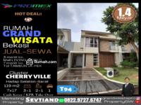 Dijual - DIJUAL Rumah 3+1 Kamar Tidur GRAND WISATA Bekasi