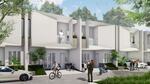 Townhouse baru 2 lantai mewah dan murah strategis dekat tol becakayu di Caman sebelah Pondok kelapa
