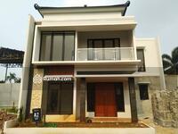 Dijual - Dijual Rumah 2 Lantai Depok Cantik Gaya Bali Strategis Dekat 3 Pintu Tol dan Stasiun