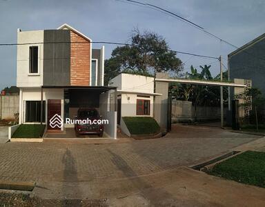Dijual - Rumah baru 2 lantai free biaya2 dengan kamar tidur 4 di Jati Asih Bekasi