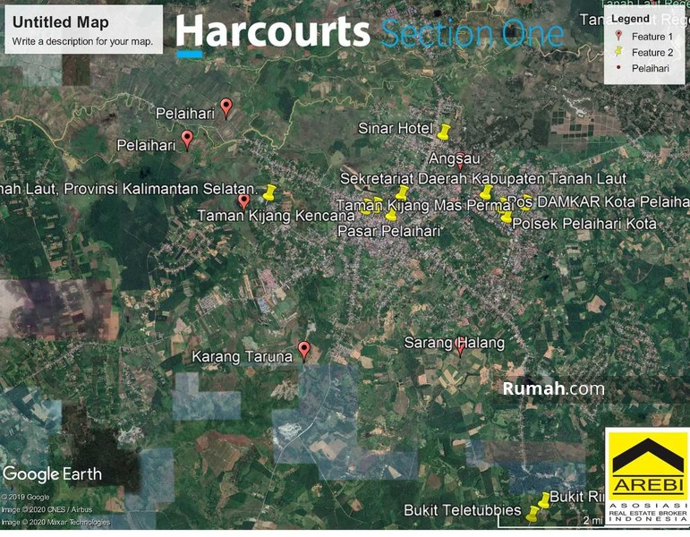 Lahan perumahan strategis Kota Peralhari Banjarmasin Kalimantan Selatan #94068436