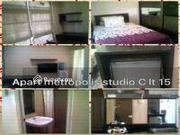 Dijual - JUAL MURAH apartemen metropolis studio full furnished