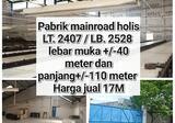 Dijual Pabrik Mainroad Holis, Bandung