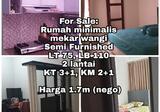 Dijual Rumah Minimalis Mekar Wangi, Bandung 1.7M Langka