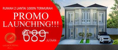 Dijual - Golden Prime Bintaro Rumah 2Lantai 100% TERMUAH DIBINTARO