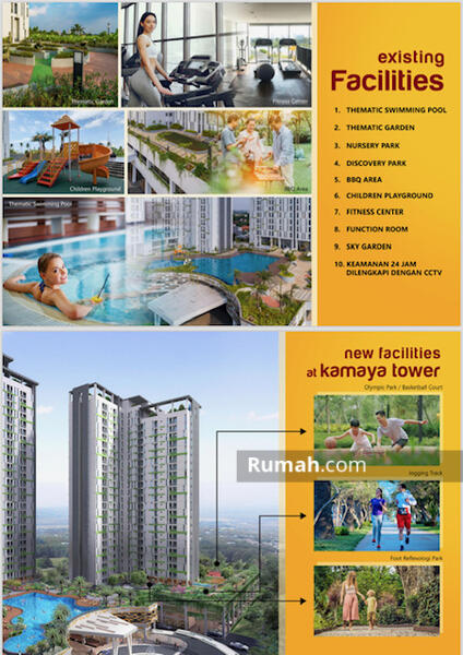 Subsidi DP s/d 5%Tower Kamaya - Apartemen Akasa BSD City #98280046
