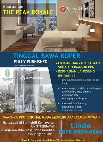 """Luxury""""THE PEAK ROYALE,Apartemen SpringHill,Kemayoran #95171306"""