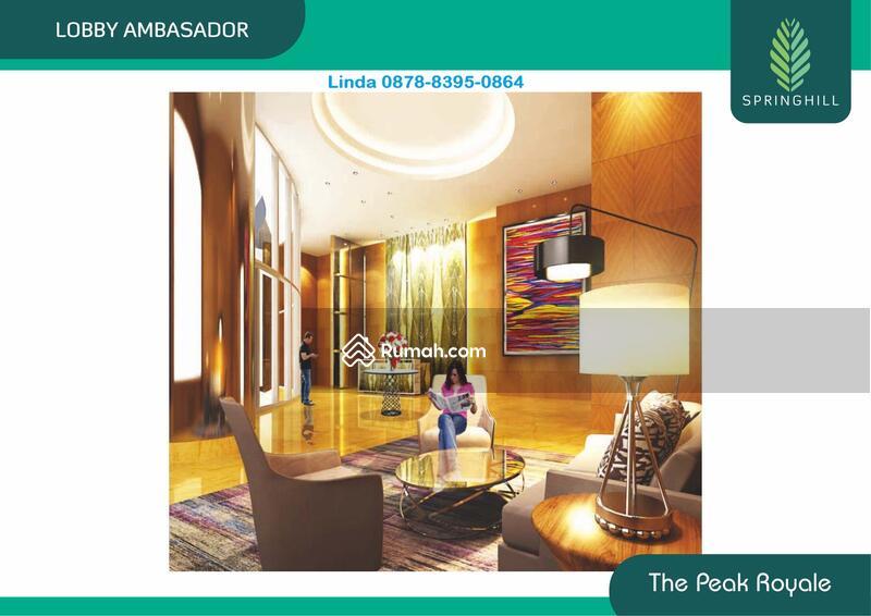 """Luxury""""THE PEAK ROYALE,Apartemen SpringHill,Kemayoran #95171312"""