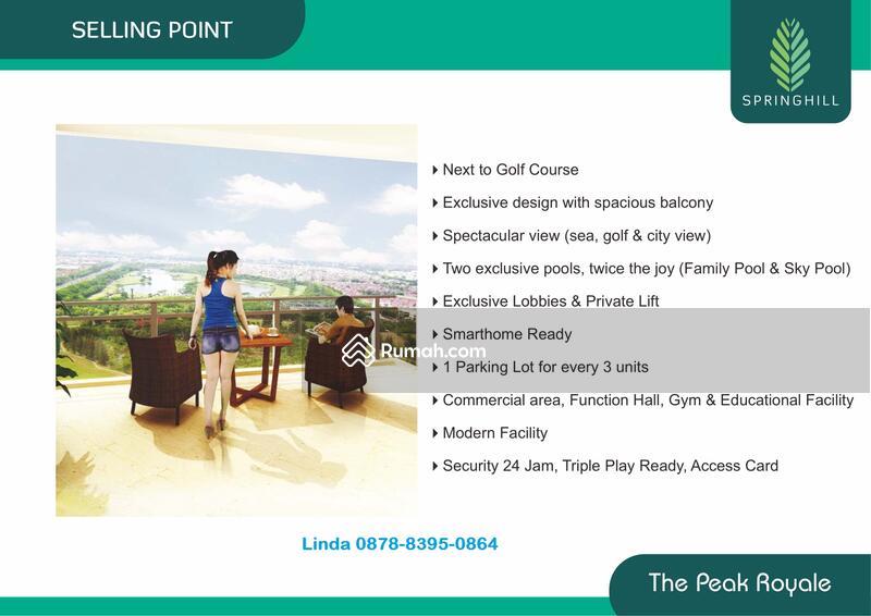 """Luxury""""THE PEAK ROYALE,Apartemen SpringHill,Kemayoran #95171316"""