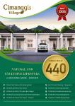 Rumah dijual cluster booking fee 2jt subsidi angsuran 18 bulan