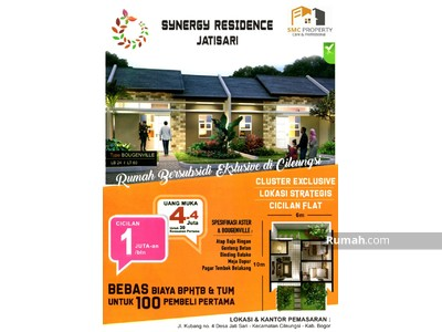 Dijual - Synergy Residence Jatisari Cileungsi Bogor